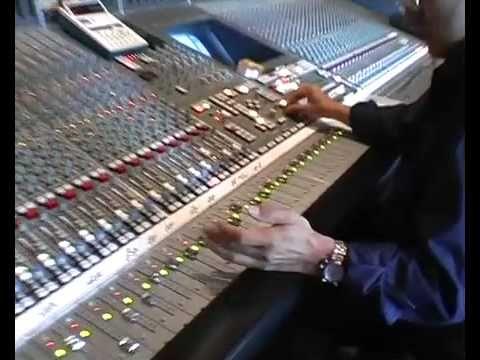 Diane Tell - Lou Andreas Salome (Making of Popeline) au studio du Manoir à Leon, France, aujourd'hui fermé.