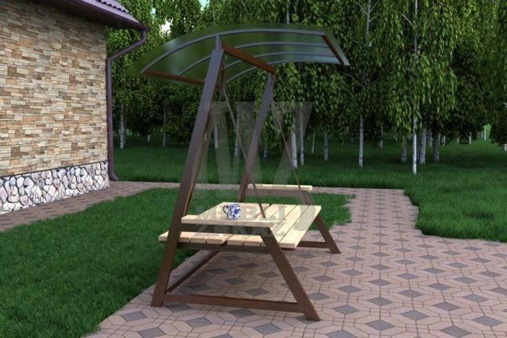 Кованая мебель, мебель из металла для загородного дома. Садовая мебель (кемпинг) от Tibas.