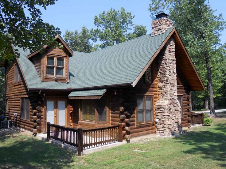 414 best luxury log cabins images on pinterest log homes for Hidden falls cabins branson mo