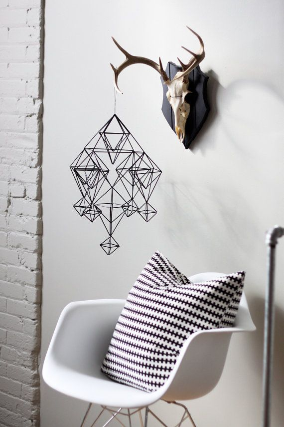 geometric hanging mobile / AMradio