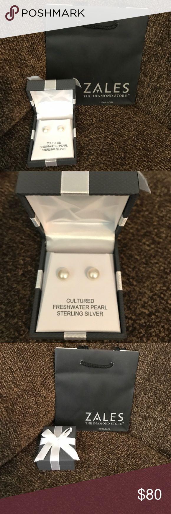 Freshwater Cultured Pearl Earrings From Zale's Nib