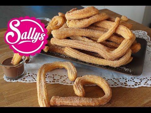 Sallys Blog - Churros mit Zimtzucker und Schokoladensauce