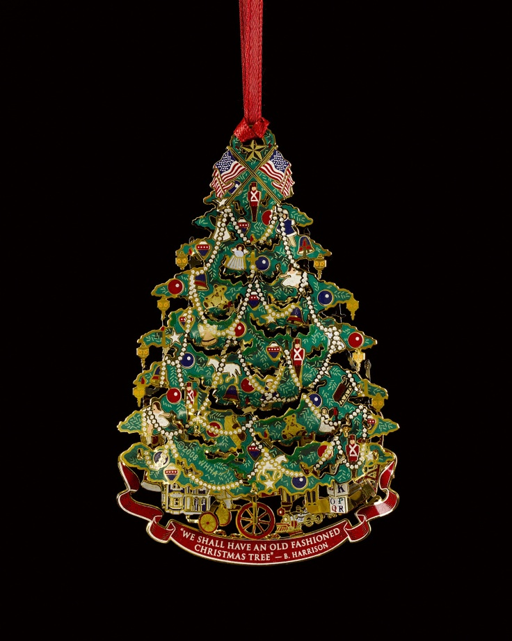 LOOK: White House Christmas Ornaments, 1981-2012