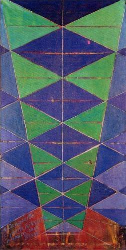 Iridescent Interpenetration - Giacomo Balla