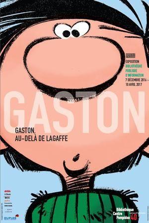 Pour célébrer les soixante ans du personnage d'André Franquin, le Centre Georges-Pompidou présente l'exposition «Gaston, au-delà de la gaffe» à la Bibliothèque publique d'information du 7 décembre au 10 avril 2017.