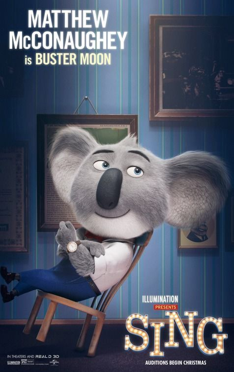 Sing Movie Poster (#7 of 8) - IMP Awards