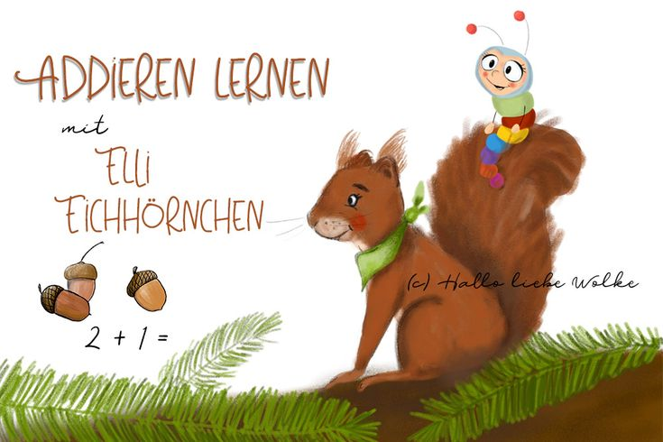 addieren lernen mit elli eichhörnchen eine lerngeschichte
