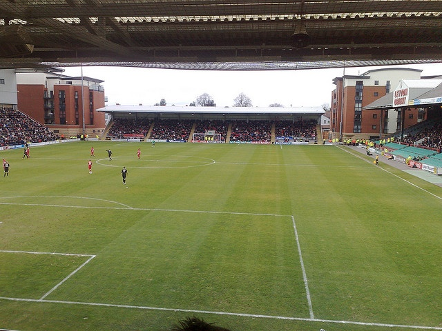 Matchroom Stadium, Leyton Orient- Saw Gillingham win 1-0 here in the FA Cup 2nd Round- setting up a home game against Stoke City. Great win!
