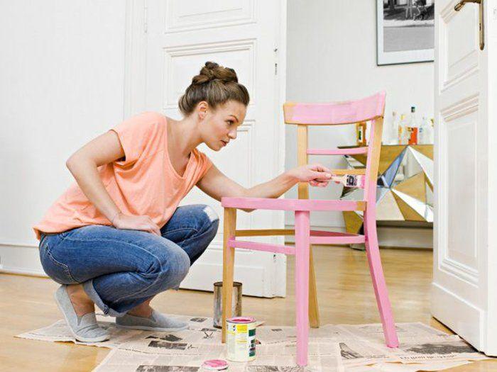 17 meilleures id es propos de repeindre les meubles en for Comment repeindre un escalier