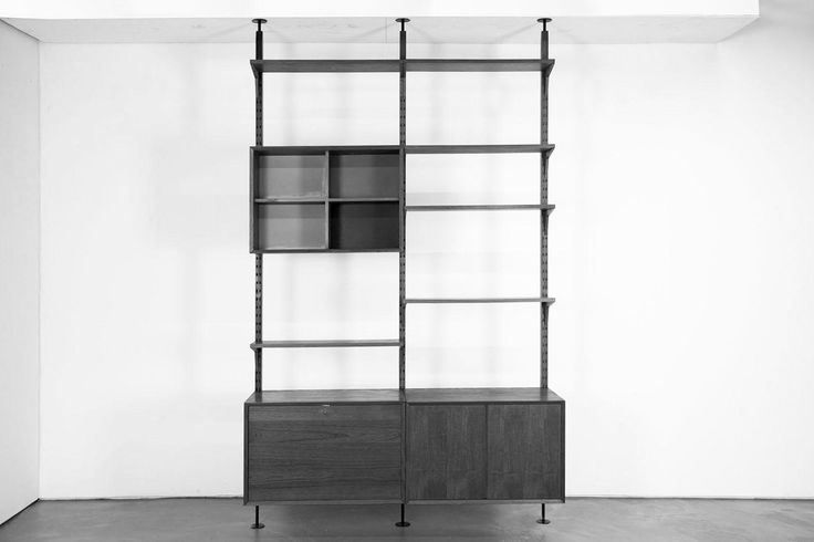 Midcentury Teak Wall Unit by Poul Cadovius for Cado