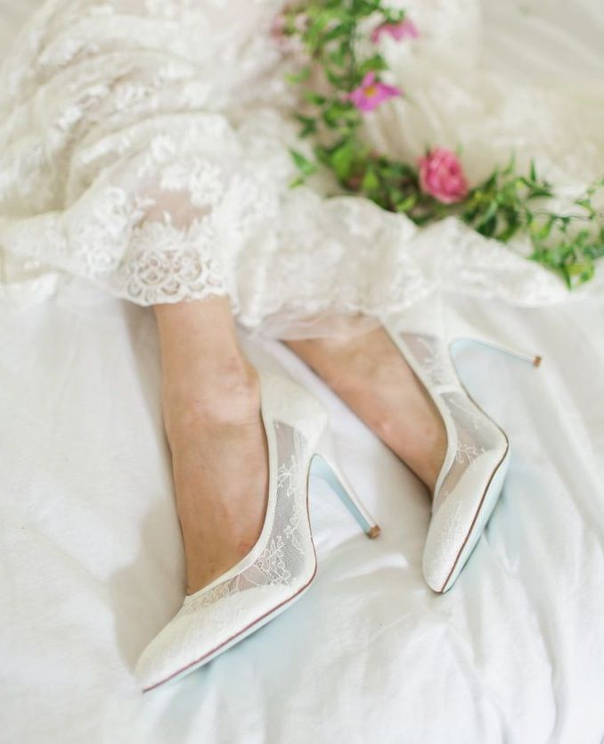 Up Wedding Shoes