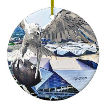 Mercedes Stadium Atlanta Christmas Ornament - Xmas ChristmasEve Christmas Eve Christmas merry xmas family kids gifts holidays Santa