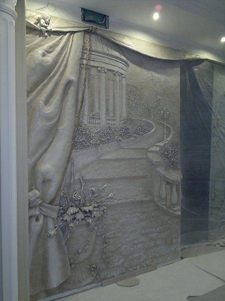 рельеф - Скульптура и лепка - Лепные панно и барельефы