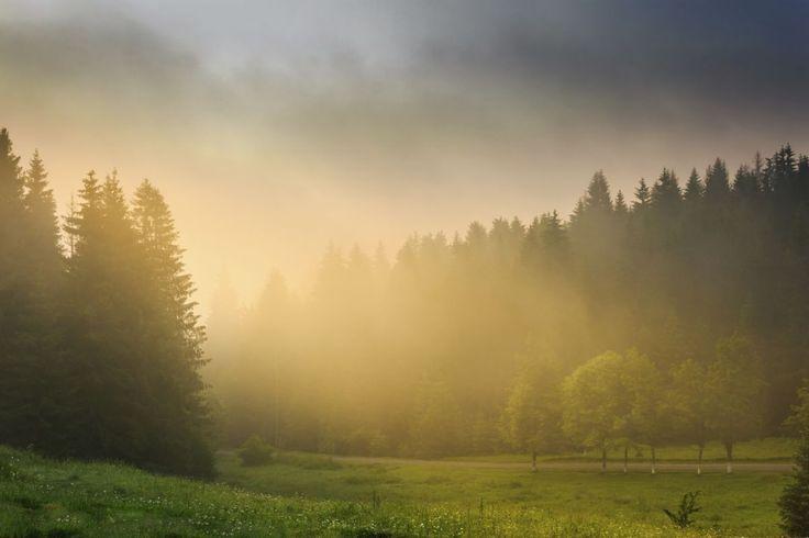 Ranný východ slnka, nepoznám nič krajšie... :-)