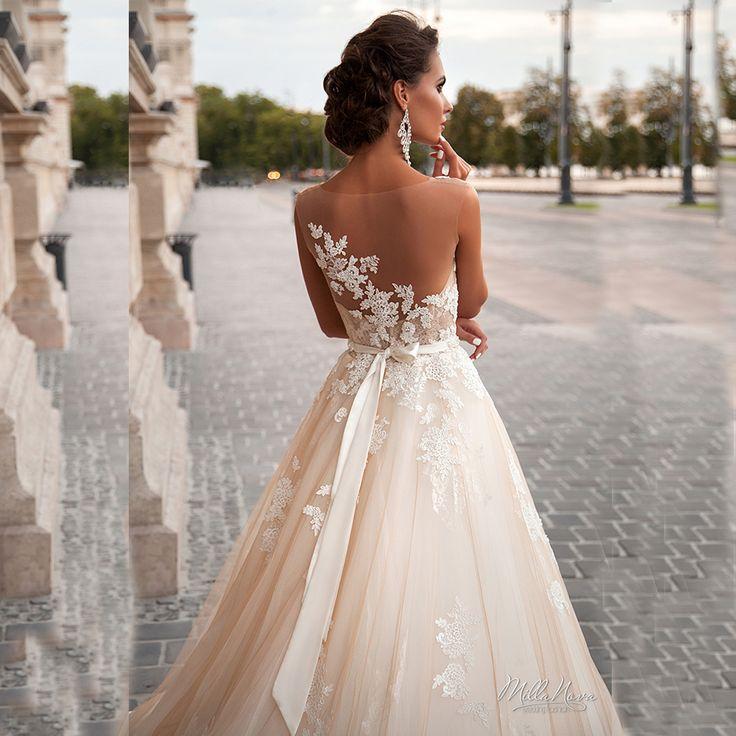 12 best vestidos de novia images on Pinterest | Bridal gowns ...