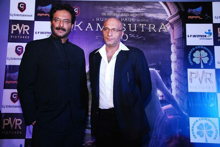 Milind Gunaji and Amit Behl on the trailer launch of #kamasutra3d.