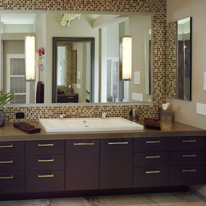 65 best images about bathroom remodel ideas on pinterest - Manufactured home bathroom vanity ...