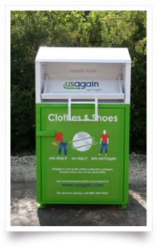 Use Again (usagain.com) accepts textiles, shoes, and clothing regardless of condition.