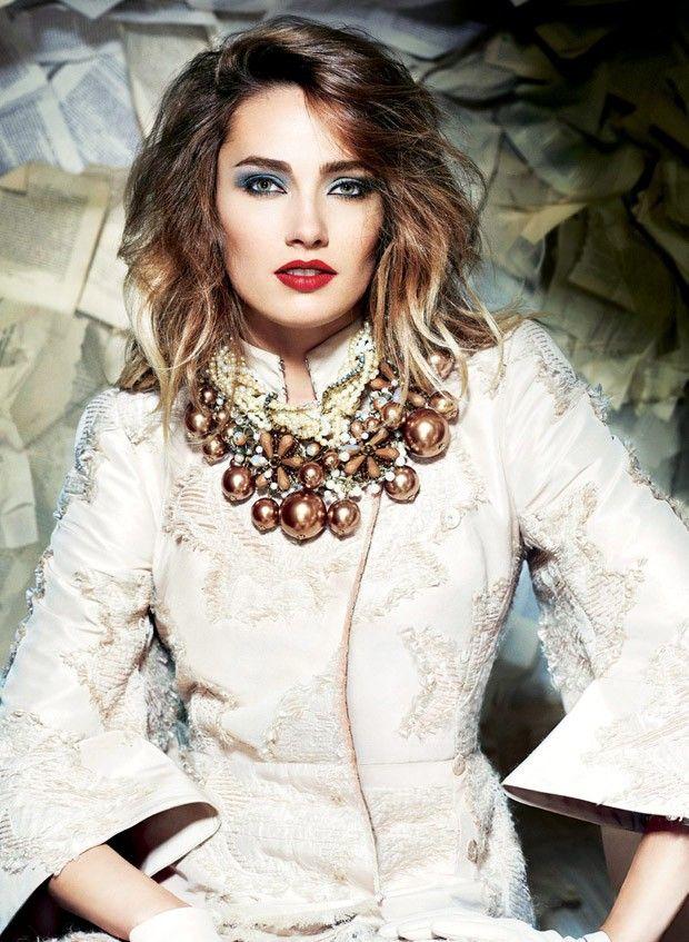 Кармен Педару в Sunday Times Style Magazine (Интернет-журнал ETODAY)