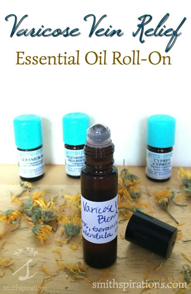 This essential oil blend helps provide relief from painful or annoying varicose…: