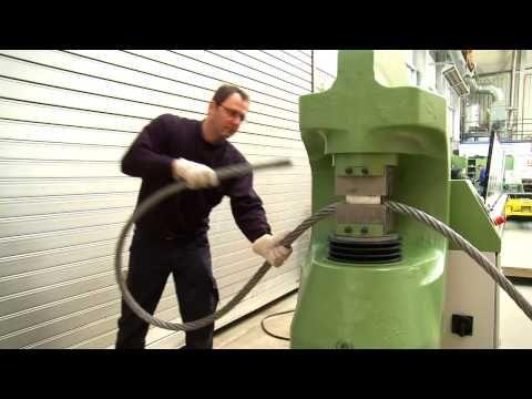 Sahm Splice 6 000 Kn Hydraulic Swager Youtube