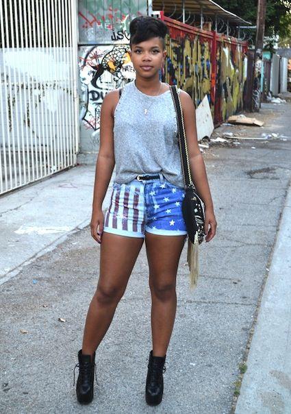 Style: Carmen Alexandra in California | Black Girl with Long Hair