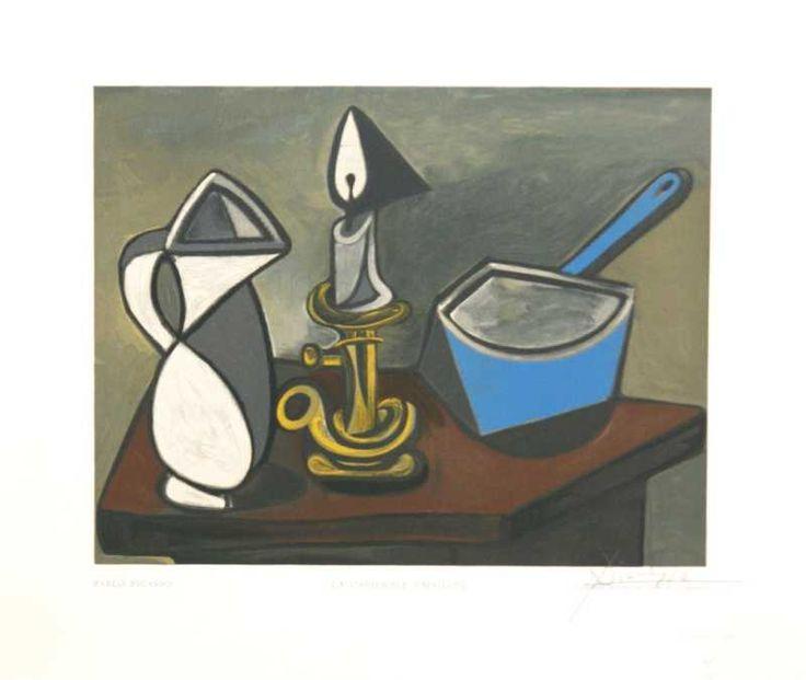 La Casserole Emaillee by Pablo Picasso