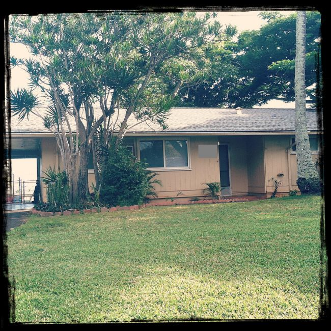Manana Military House in Pearl City Hawaii.  ..ours looked like this :D