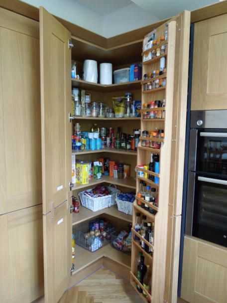 Large Kitchen Pantry On This Kitchen By Kitchen World In Sheffield