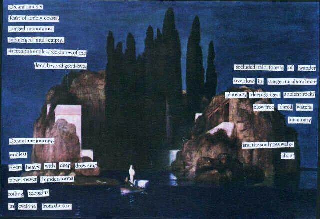 Dreamtime Journey - a cut-up poem by Keinwyn Shuttleworth