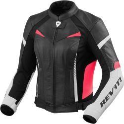 Revit Luna Ladies Motorcycle Leather Jacket Black 44 RevitRevit