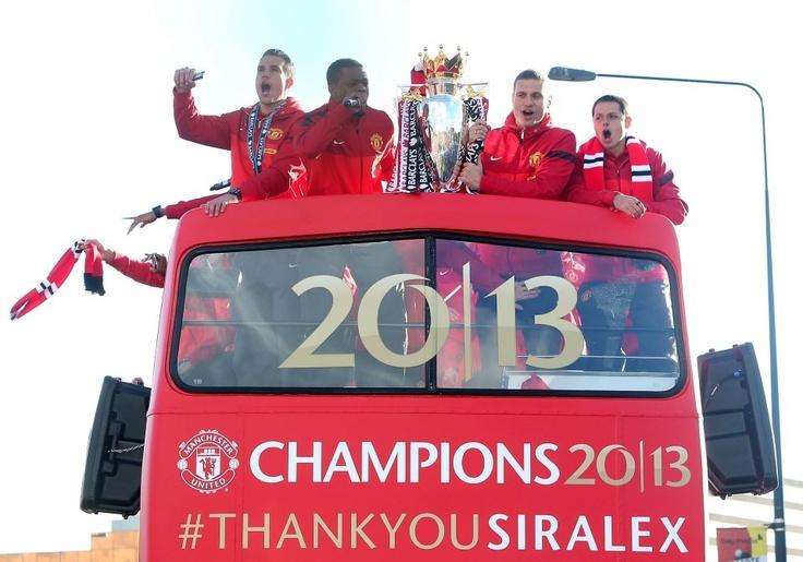 Champions 2013 #manchesterunited