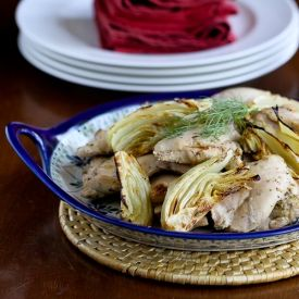Roasted Chicken Thighs with Lemon, Fennel & Oregano | recipes ...