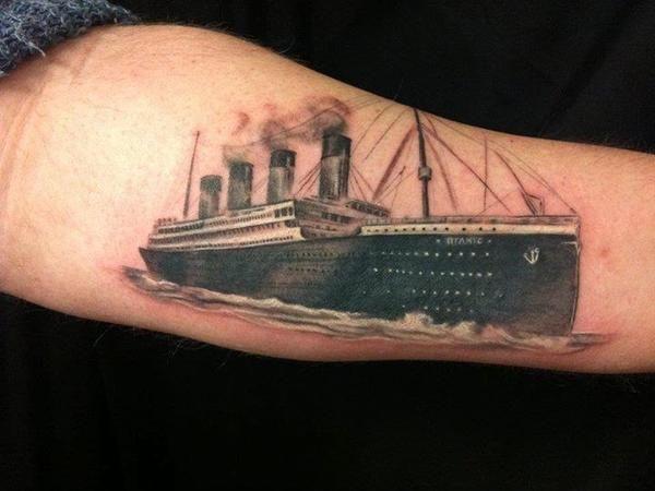 13 Incredible Titanic Tattoo Designs