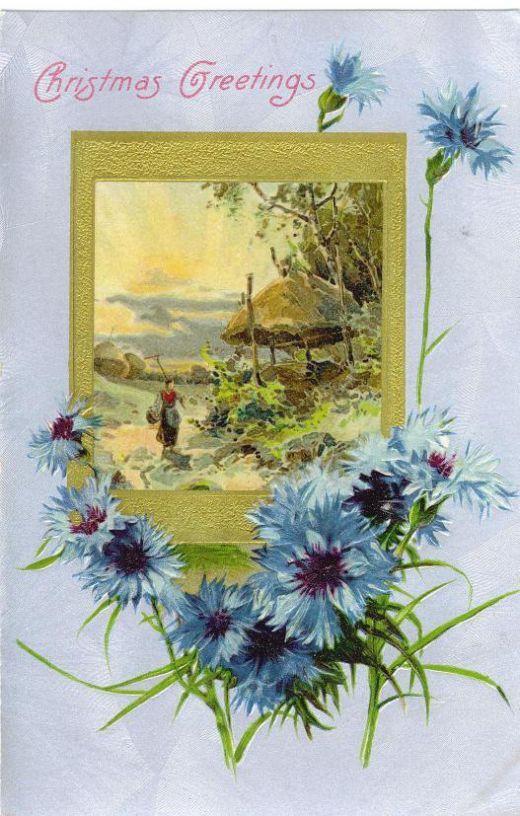 27 best greeting card vintage images on pinterest vintage cards free floral vintage christmas cards m4hsunfo