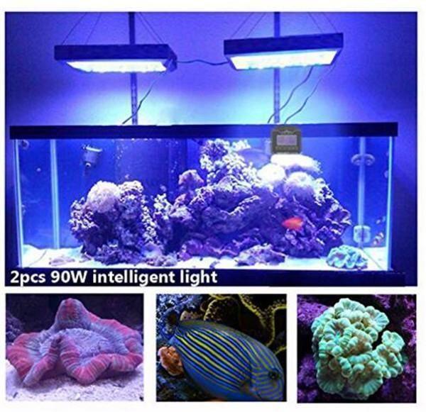 WiFi 6x Programmable LED Aquarium Light for Saltwater Coral Marine Fish Tank