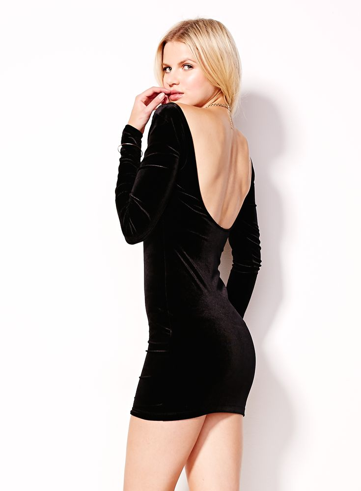 Velvet Dress. #hotforholiday