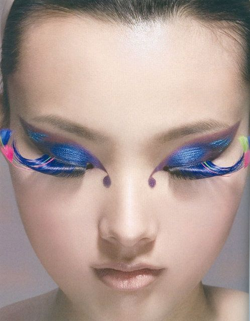 butterfly makeup for eyes