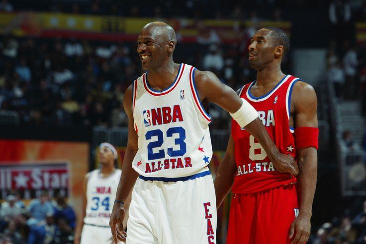 Due leggende a confronto. Hairness Michael Jordan & Kobe Bryant. All Star Game 1998
