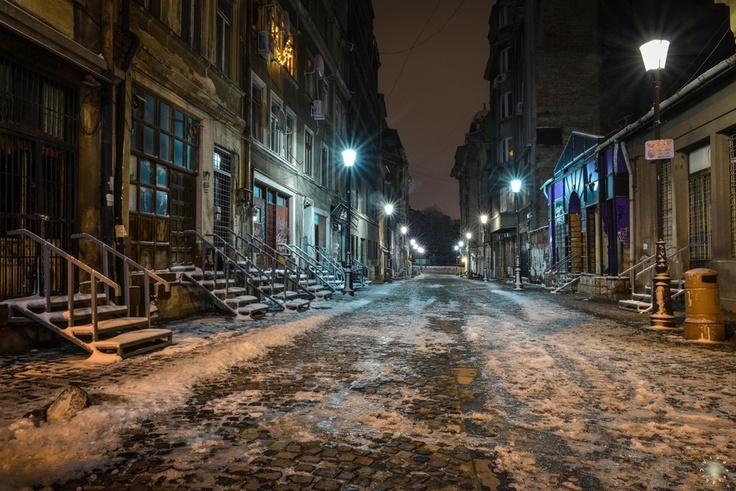 Night Shooting in Bucharest