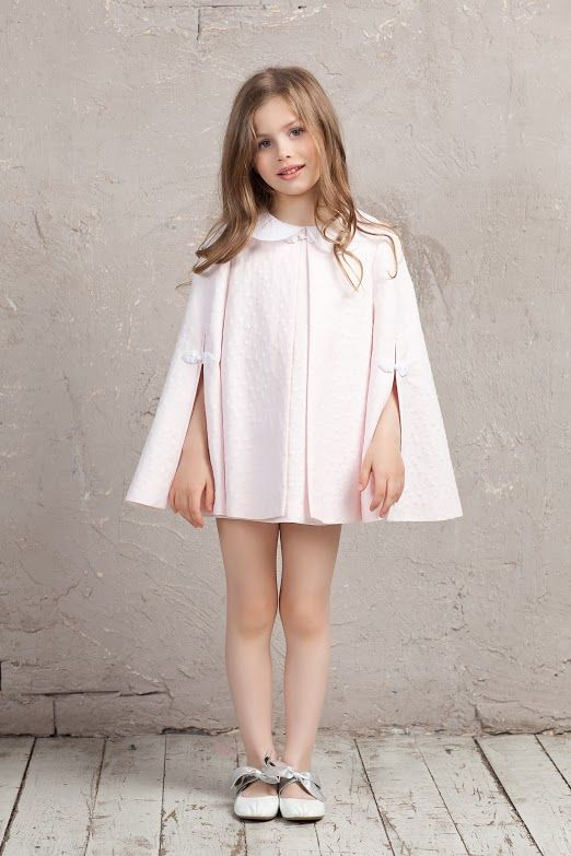 #cape #cotton #pink #bibiona #collar #bibiona #dress #collection #sky  #baby #babygirl #cruise