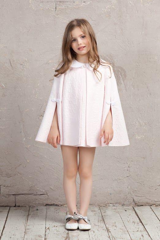 #cape #cotton #pink #bibiona #collar #bibiona #dress #collection #sky  #baby #babygirl #cruise
