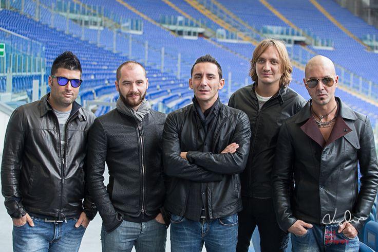 modà, presentazione tour 2014 allo stadio olimpico di Roma | luigiorru.com