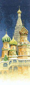 St. Basil's Cathedral - John Clayton International cross stitch