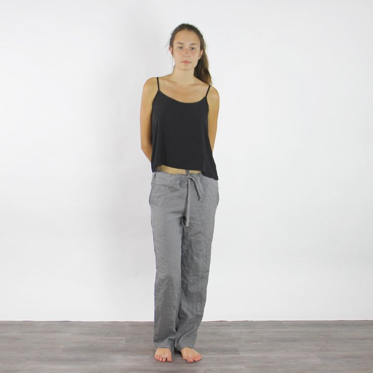 how to wear casual linen women