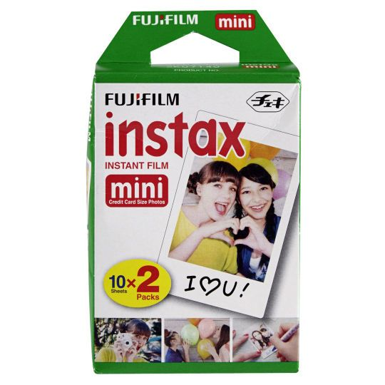 <div>Snap and share memories in an instant with this mini camera film. For use with Fujifilm Ins...