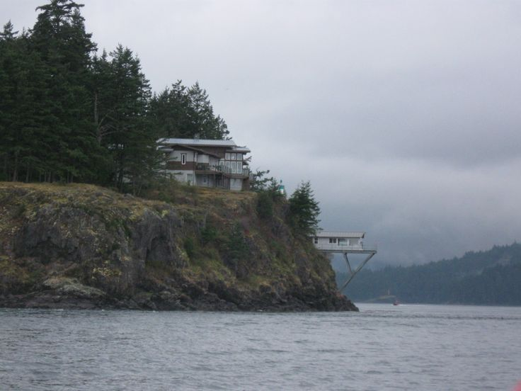 Passed this house overlooking the inlet. What a view they have!