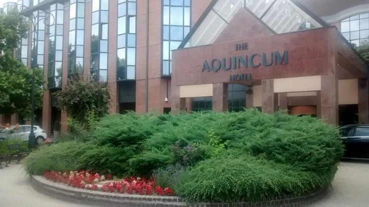 Entrance #aquincumhotel by Eszter F. on Foursquare