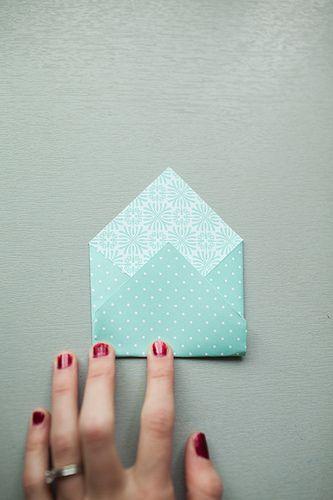 envelope (advent calendar) tutorial