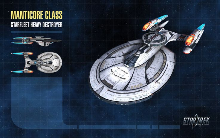 Manticore Class Starship for Star Trek Online by thomasthecat AWACS?